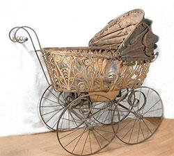 Первые детские коляски