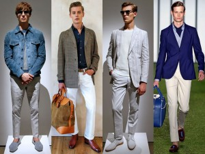 Новые идеи весенне-летней моды для мужчин