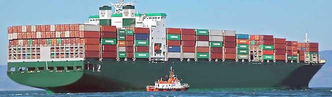 морские контейнерные перевозки - карго