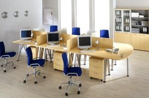 Шкафы-перегородки: идеальная мебель для офиса