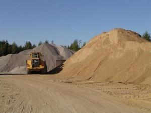Бизнес идея: доставка песка и щебня