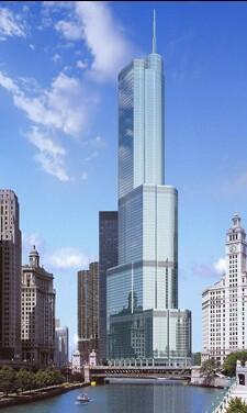 Небоскреб Trump Tower в Нью-Йорке