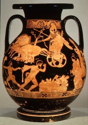 Керамическая посуда Древней Греции