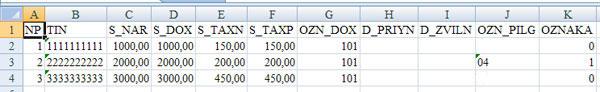 Перенос отчета 1ДФ из программы Zvit1DF в программу OPZ шаг 2